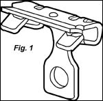 Hammer-On Flange Clip