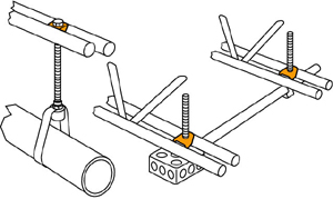 Threaded Rod Hanger for bar joists applications
